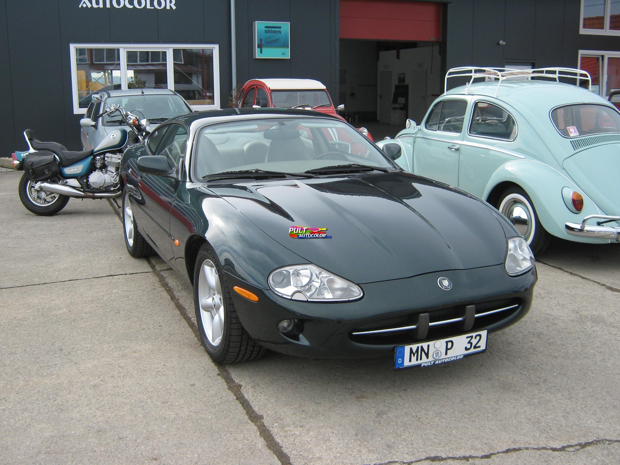 Ganzlackierung Jaguar