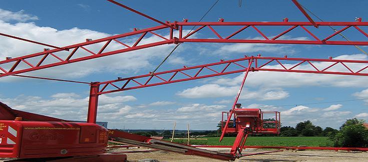 Aufbau Stahlträger